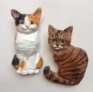 木彫り猫ワークショップ